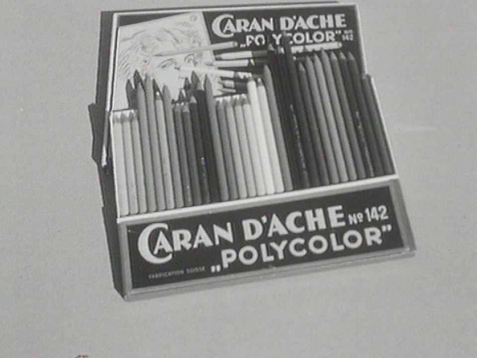Caran d'Ache 1954. [RTS]