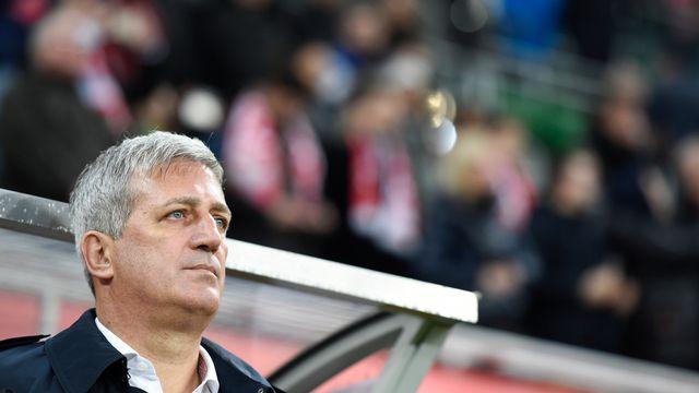 Le sélectionneur national de l'équipe Suisse, Vladimir Petkovic [Gian Ehrenzeller - Keystone]