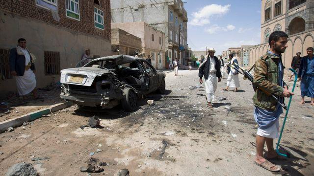 Les attentats ont été commis à l'intérieur et l'extérieur des lieux de culte du centre de Sanaa. [Hani Mohammed - AP/Keystone]