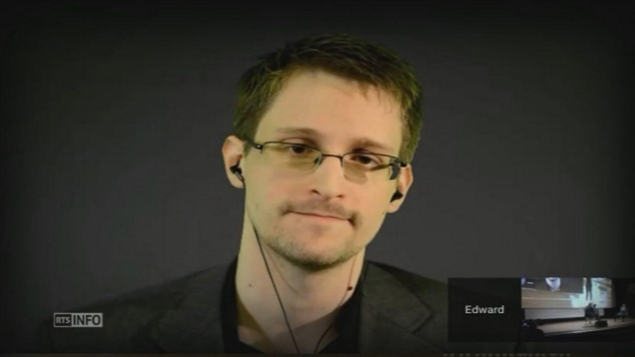 Pardonnez-moi avec Edward Snowden [RTS]