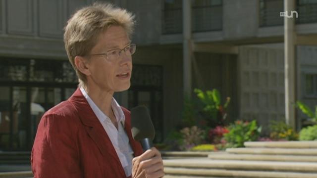 Astrid Epiney est l'une des seules femmes à occuper le poste de recteur d'université en Suisse.