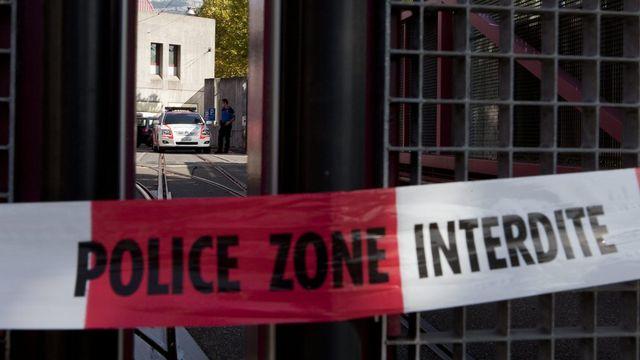 les homicides n'ont jamais été aussi peu nombreux en Suisse depuis plus de trente ans, selon l'Office fédéral de la statistique. [Salvatore Di Nolfi - Keystone]