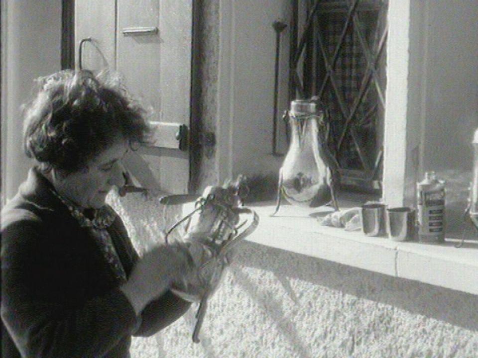Le printemps en Valais, 1962. [RTS]