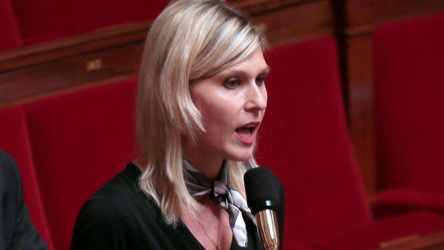 Virginie Duby-Muller, députée de la 4e circonscription de Haute-Savoie. [Jacques Demarthon - AFP]