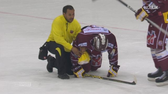 1-2, Genève- Servette - ZSC Lions (0-8): interview de Jacquemet après la lourde défaite genevoise [RTS]
