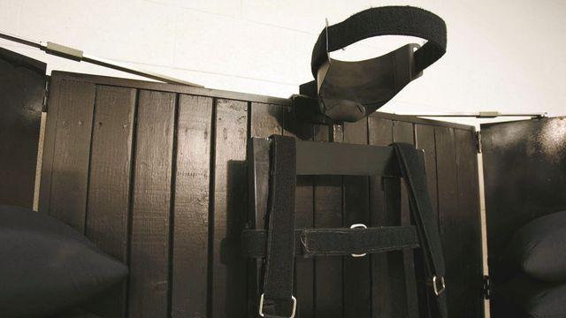 La chambre d'exécution de la prison d'Etat de l'Utah. [Trent Nelson - AP/Keystone]