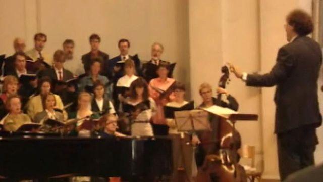 Ambiance de fête musicale à la dixième Schubertiade à Carouge. [RTS]