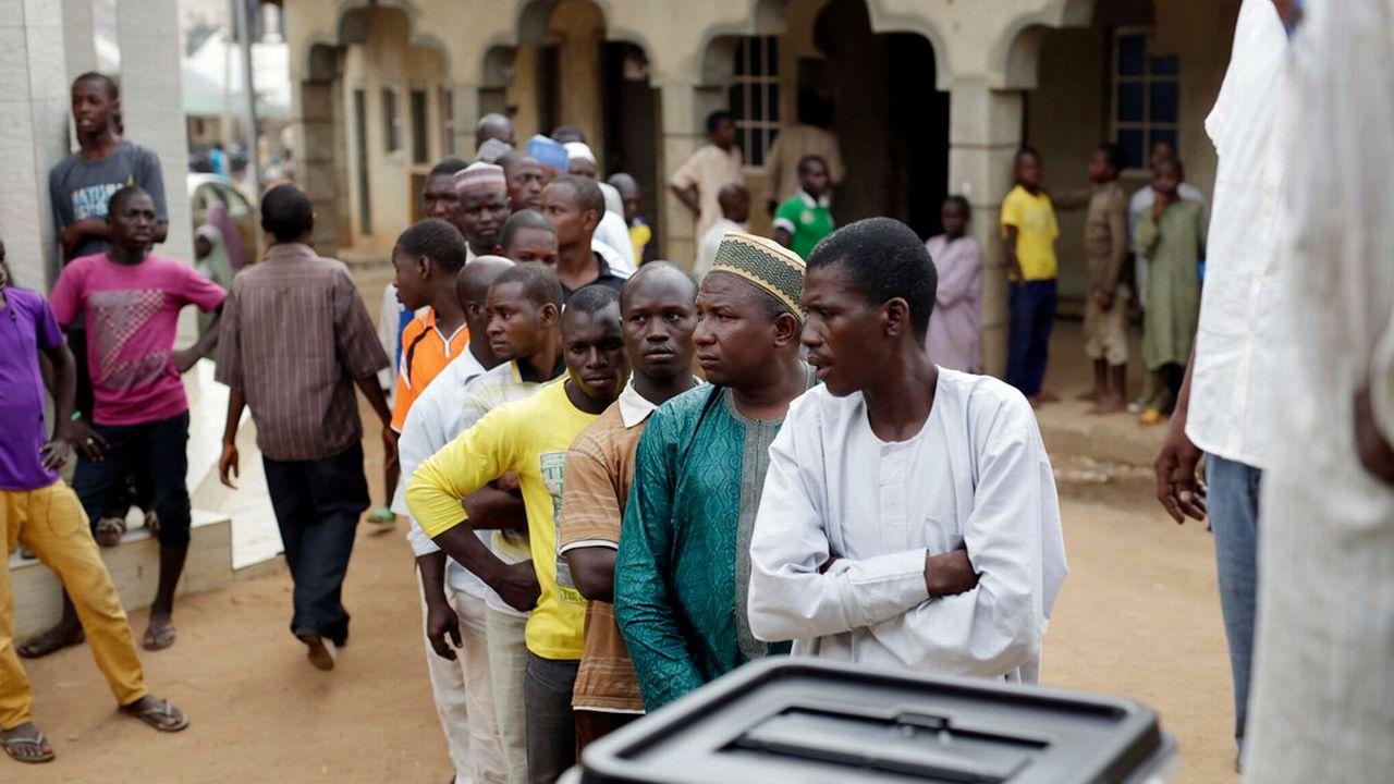 Le Nigéria élit son président ce samedi. [Jérôme Delay - AP Photo/Keystone]