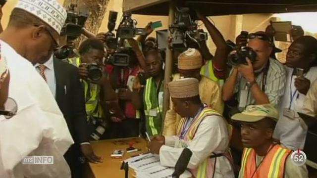 Nigeria: les élections présidentielles sont sous haute tension [RTS]