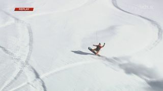 Snowboard hommes: Emilien Badoux (SUI) termine 2e [RTS]