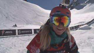Ski dames: Hazel Birnbaum (USA) remporte la médaille d'or avec 88.5 points [RTS]