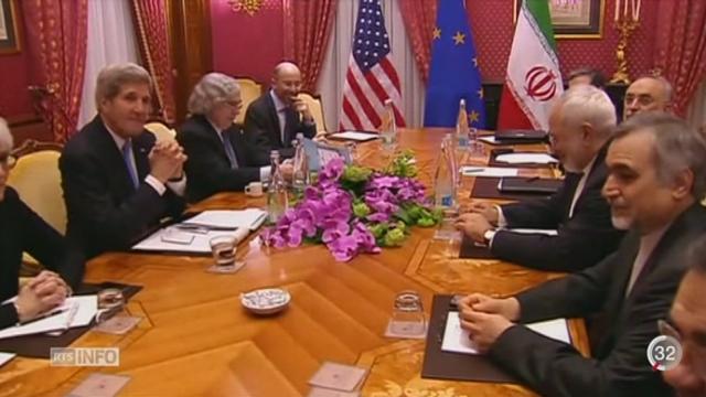 Les négociations sur le nucléaire iranien sont entrées dans une phase décisive. [RTS]
