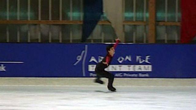 Dernière étape pour Stéphane Lambiel avant les Jeux olympiques.