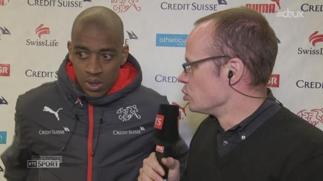 Suisse - USA (1-1): Gelson Fernandes au micro de la RTS après le match [RTS]