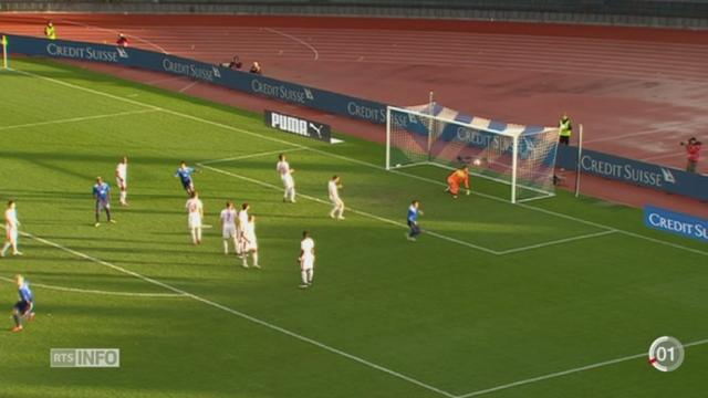 Football: l'équipe de Suisse fait match nul (1-1) contre les Etats-Unis à Zurich [RTS]