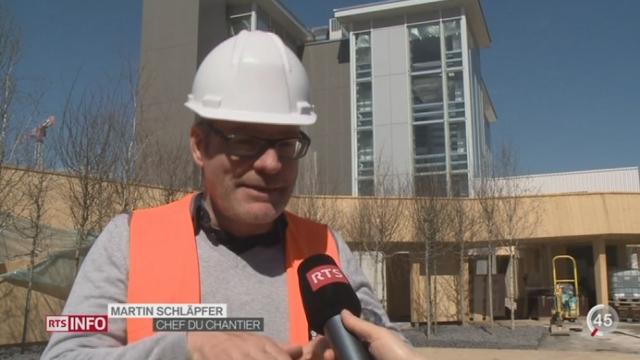 Le pavillon suisse de l'Exposition universelle de Milan sera prêt dans les temps [RTS]