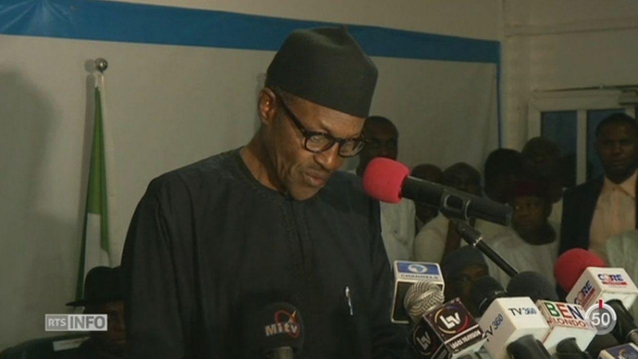 Nigeria: le président sortant, Goodluck Jonathan, a reconnu sa défaite et félicite son rival Muhuammadu Buhari [RTS]
