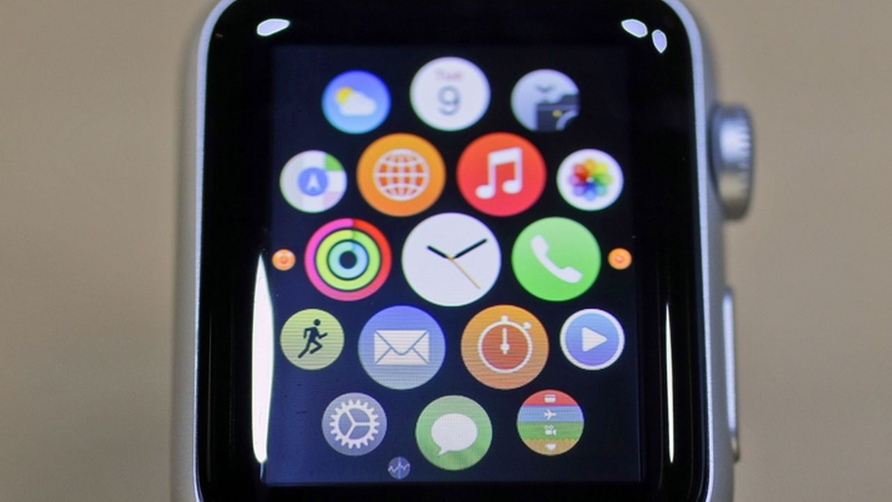 L'Apple Watch ne sera pas disponible en Suisse. [Eric Risberg - AP/Keystone]