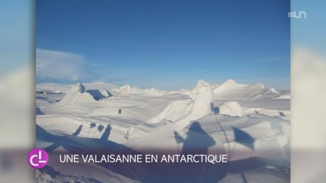 Annick Vuissoz est partie restaurer des cabanes d'explorateurs en Antarctique [RTS]
