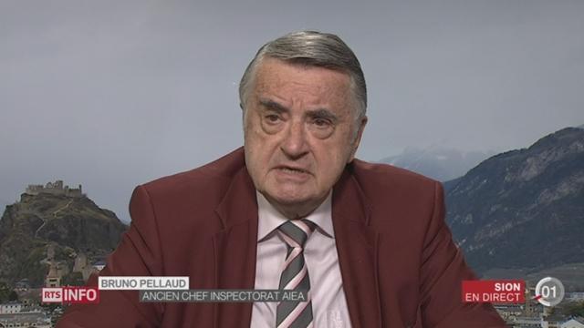 Nucléaire iranien: réaction de Bruno Pellaud, ancien chef de l'inspectorat de l'AIEA, depuis Sion (3-3) [RTS]