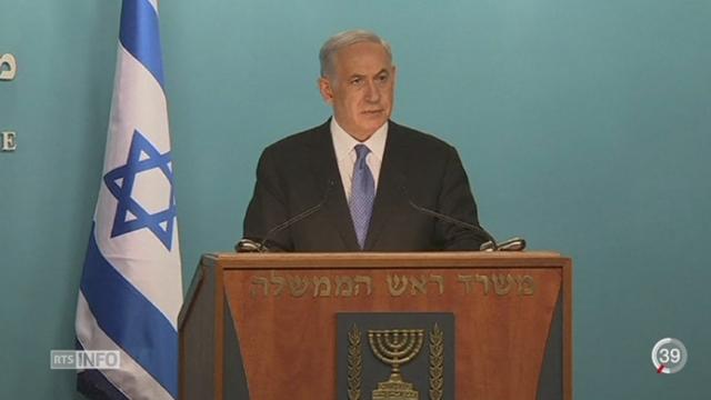Iran - Nucléaire: le président Rohani se félicite et Israël condamne l'accord [RTS]