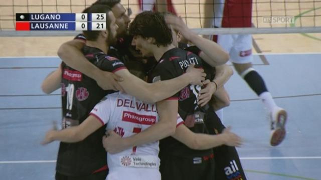 Finale, match 1: Dragons Lugano - Lausanne UC (1-0): les Dragons empochent la 1e manche 25-21 [RTS]