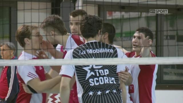 Finale, match 1: Dragons Lugano - Lausanne UC (2-1): Lausanne prend la tête dans ce match (24-26) [RTS]