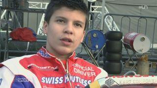 Karting: Patrick Schott rêve de devenir pilote professionnel [RTS]