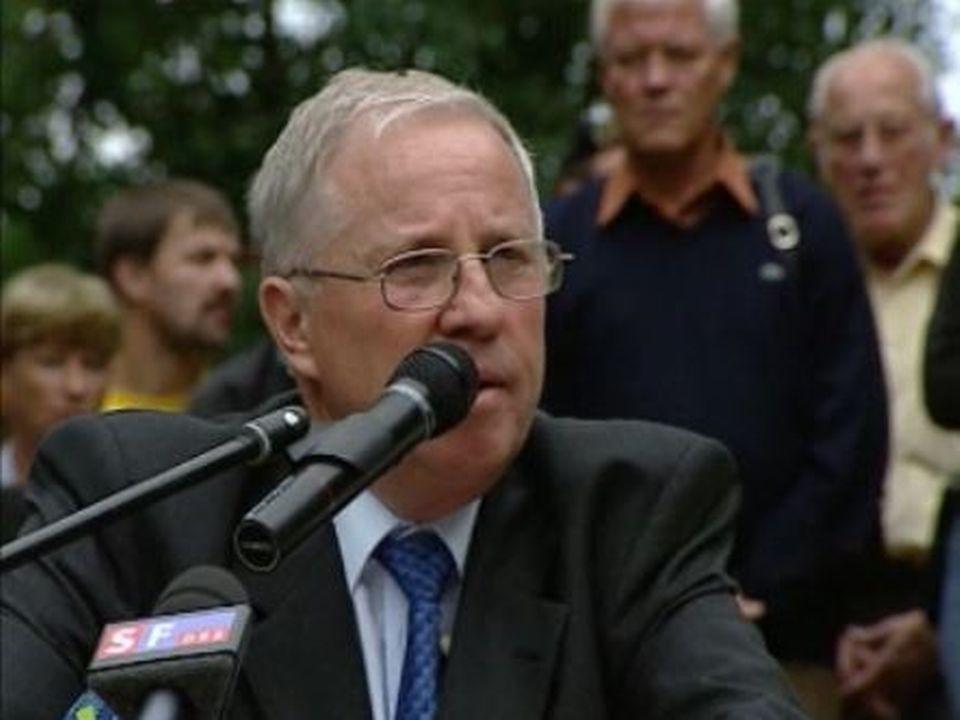 Christoph Blocher en 2005 [RTS]