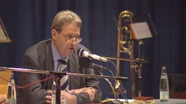 Jean Cavadini en 1996. [RTS]