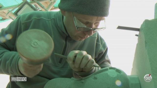 Minimag: le métier de tailleur de pierre suscite toujours des vocations [RTS]