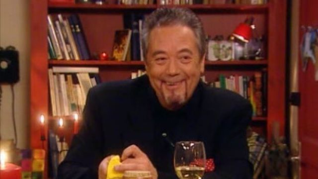 Le cusinier Roland Pierroz en 2005. [RTS]