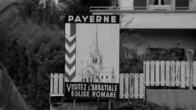 Vivre à Payerne en 1969. [RTS]