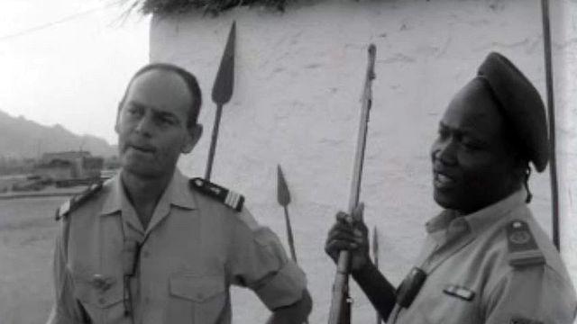 En 1970, la France aide militairement son ancienne colonie.