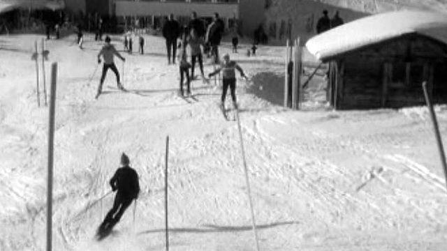 Prof de ski, de ski-bob, de patinage, des métiers de la neige.