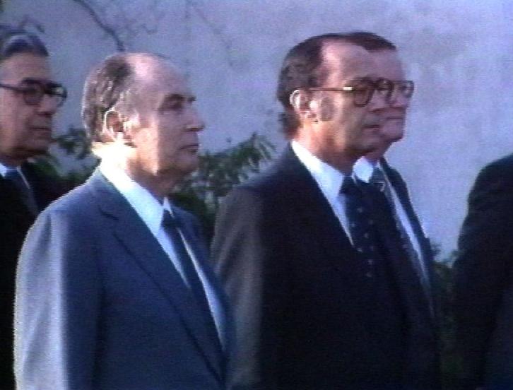 Mitterrand en Helvétie
