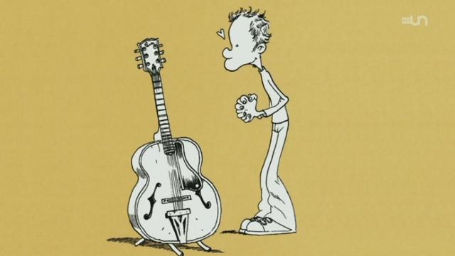 Zep, une guitare au bout du crayon [RTS]
