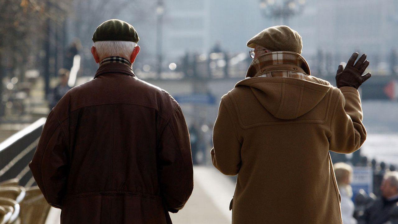 La retraite à 63 ans séduit les Allemands. [Franka Bruns - AP/Keystone]