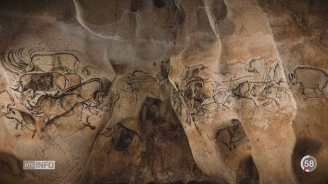 La réplique de la grotte Chauvet a été inaugurée en Ardèche [RTS]