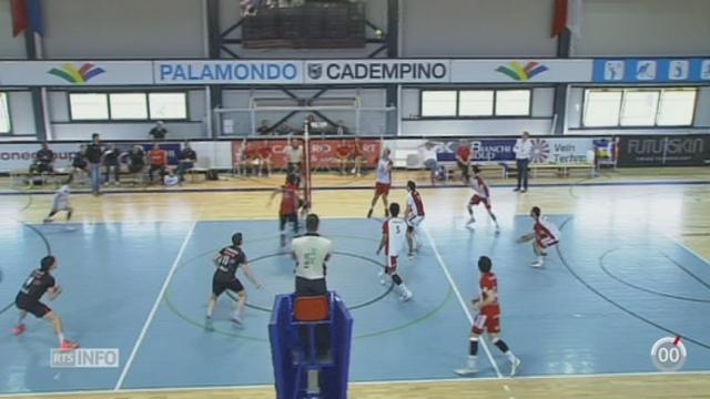 Volley-ball - LNA: le LUC remporte un succès important face à Lugano en finale des play-offs [RTS]