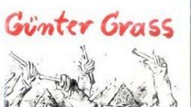 """""""Le Tambour"""" (""""Die Blechtrommel"""") de Günter Grass, couverture d'après un dessin de l'écrivain allemand, décédé le 13 avril 2015. [steidl.de]"""