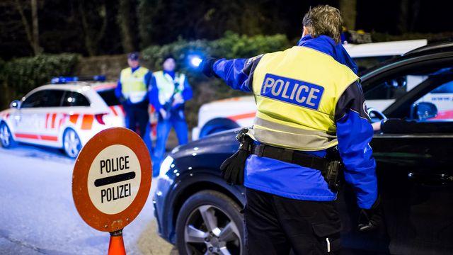 En 2014, il y a eu 1300 accidents avec blessés dans le canton de Genève. [Jean-Christophe Bott - Keystone]