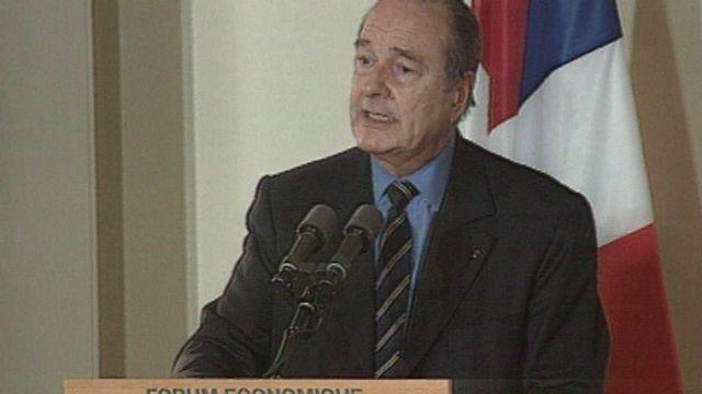 Chirac en visite d'Etat [RTS]