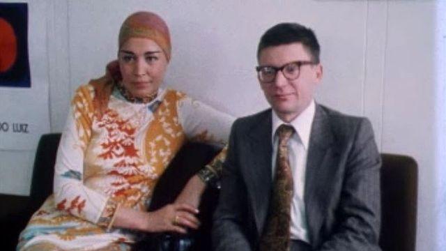 Le dissident Andreï Amalrik et son épouse en 1977. [RTS]