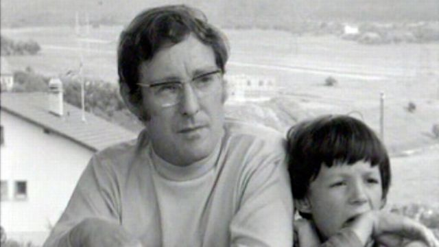 Alexandre Voisard en 1970. [RTS]