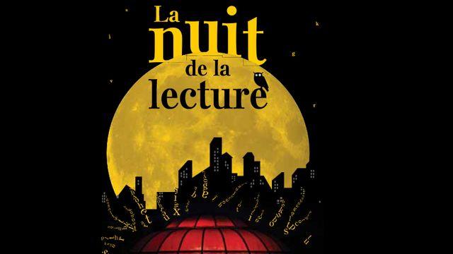 Le logo de La Nuit de la lecture.