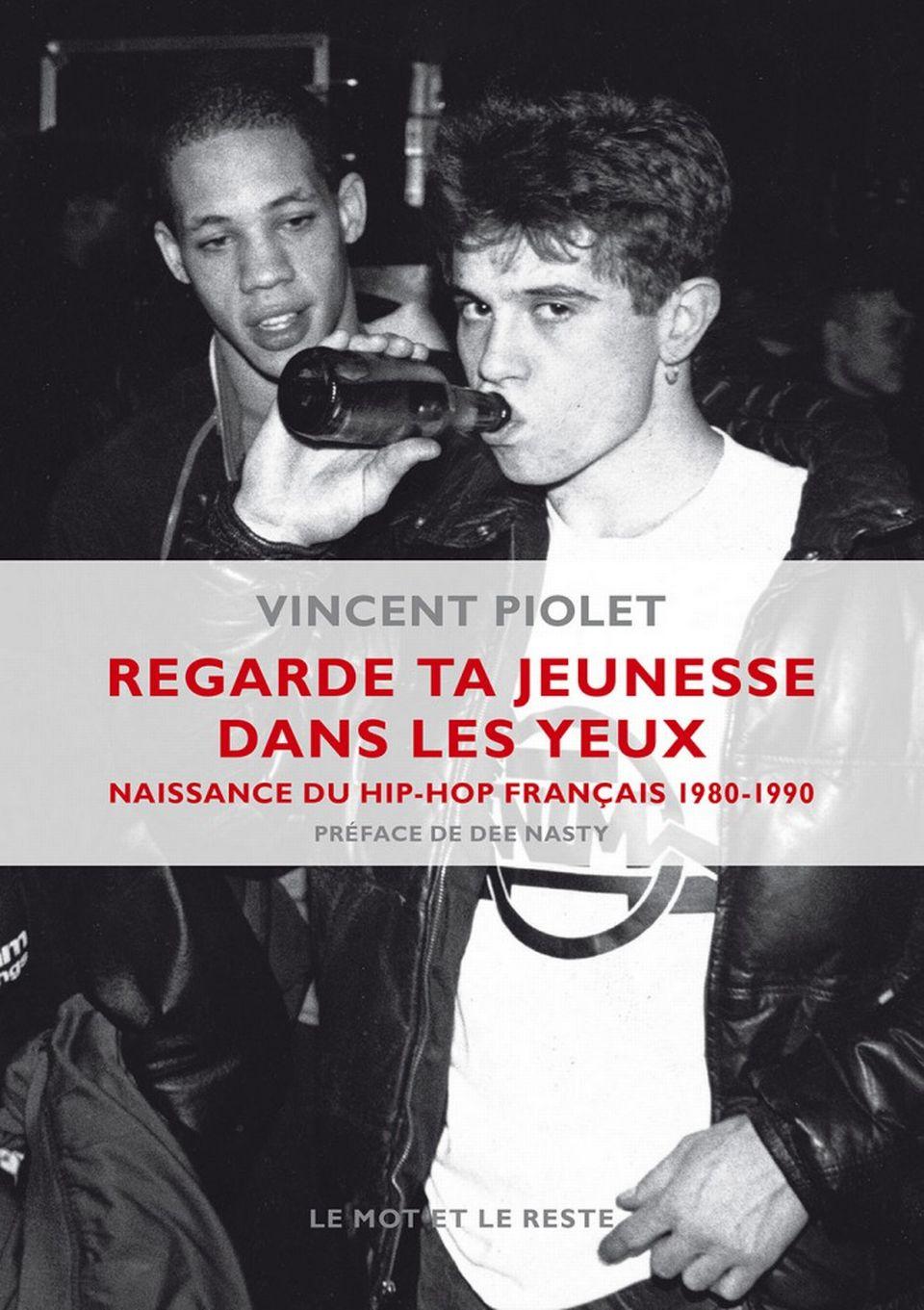 """Couverture du livre """"Regarde ta jeunesse dans les yeux"""" de Vincent Piolet. [Editions Le mot et le reste]"""