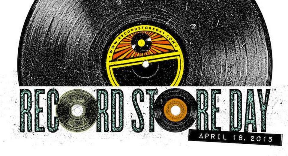 Visuel du Record Store Day (Disquaire Day) du 18 avril 2015. [DR]