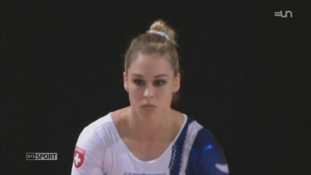 Gym - Européens de Montpellier: Giulia Steingruber remporte la médaille de bronze au sol [RTS]