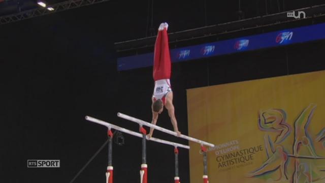 Gym - Européens de Montpellier: Christian Baumann et Pablo Brägger décrochent des médailles [RTS]